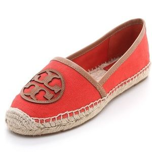 Tory Burch espadrilles Angus in flame red orange